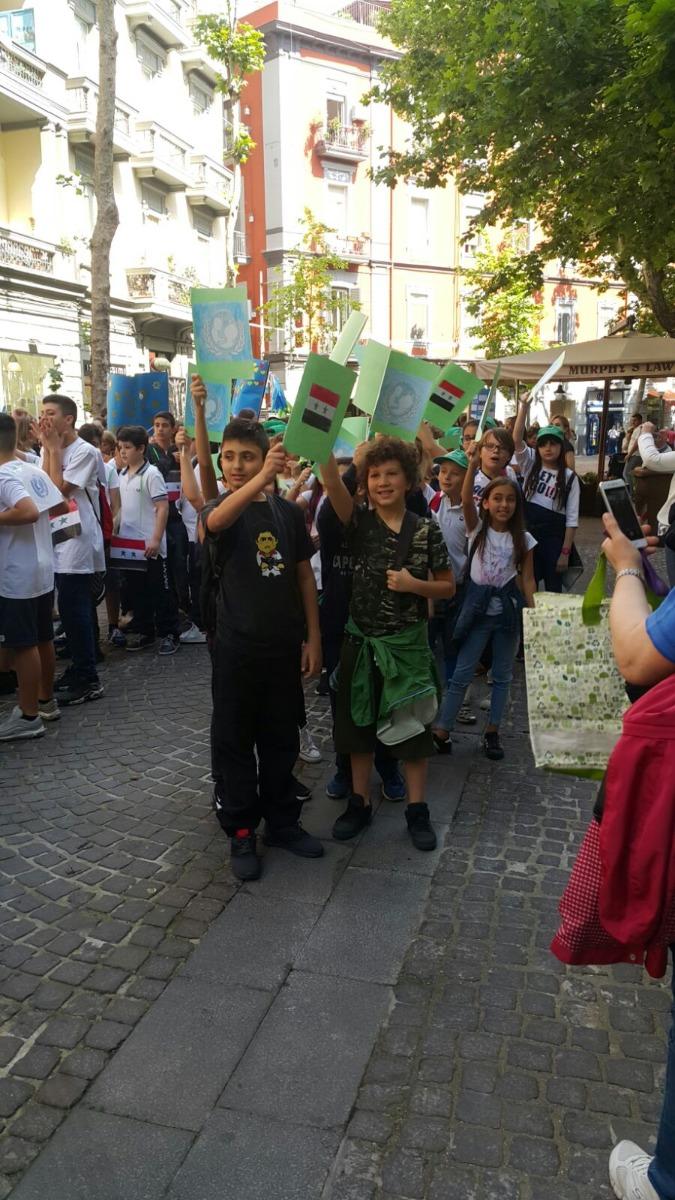 24 Maggio 2018, XXIV Marci a della Pace a Napoli