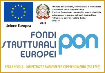 Fondi Strutturali Europei- PON