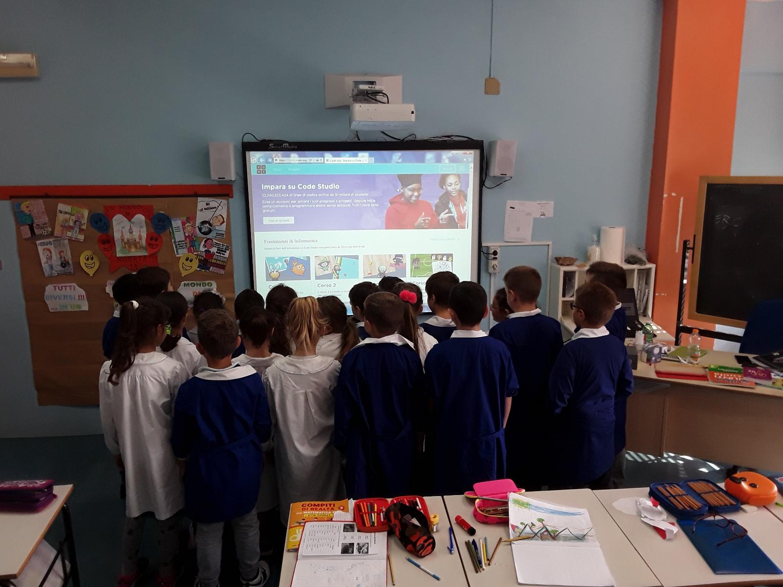 EUROPE CODE WEEK- Scuola dell'infanzia e scuola primaria
