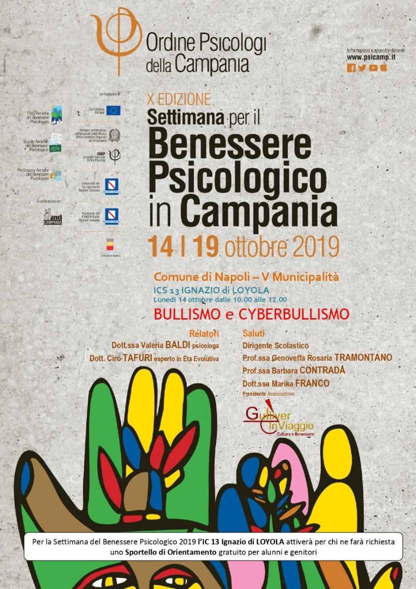 Settimana per il Benessere Psicologico in Campania