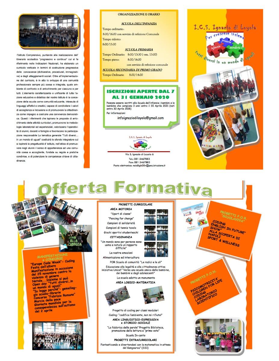 Brochure offerta formativa pag.1