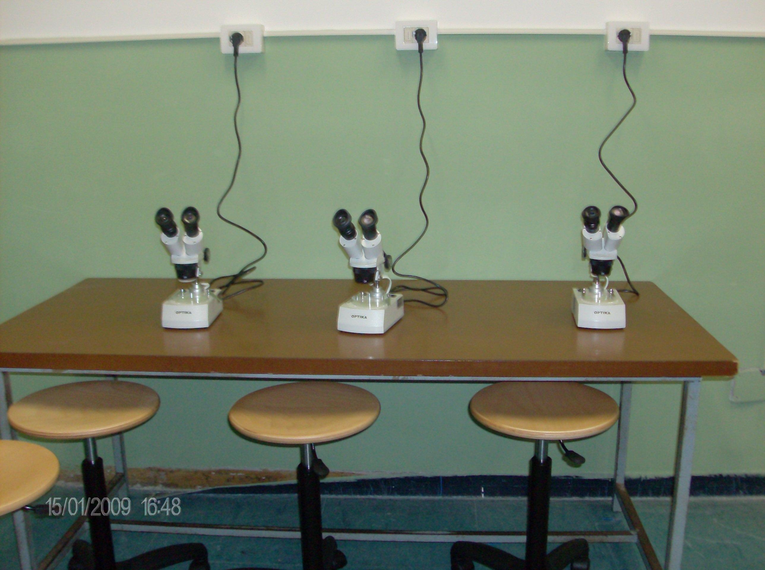 laboratorio scientifico